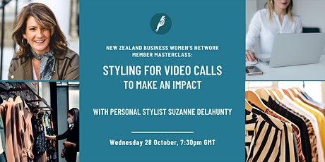Member Masterclass: Styling for video calls to make an impact tickets