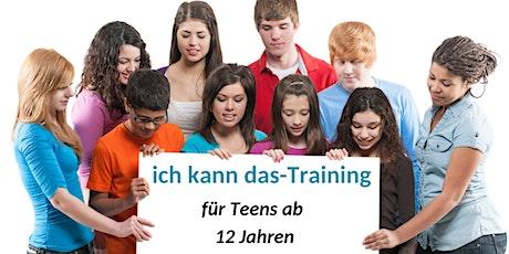 """""""ich kann das""""-Training für Teenager ab 12 Jahren Tickets"""
