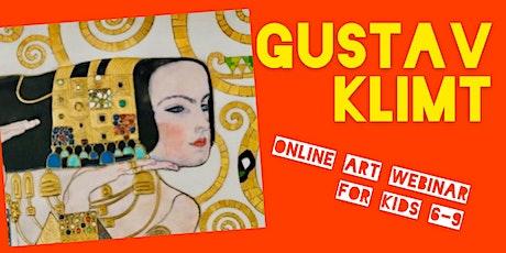 Gustave Klimt For Kids 6-9 - Online Art Webinar tickets