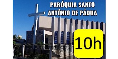 Santa Missa na Matriz Santo Antônio de Pádua - 10h ingressos