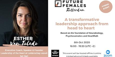 A transformative leadership approach | Future Females Rotterdam tickets
