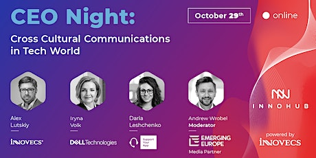 CEO Night: Cross Cultural Communications in Tech World tickets