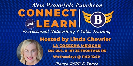 TX | New Braunfels - Networking and Sales Training Luncheon tickets