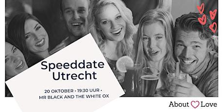 Singles speeddate Utrecht | 22-34 jaar tickets