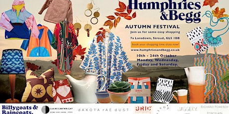 Humphries and Begg Autumn Festival tickets