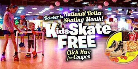 Kids Skate Free Saturday 10/3 at 12pm tickets