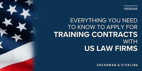 How to apply for training contracts with US law firms - LSE tickets