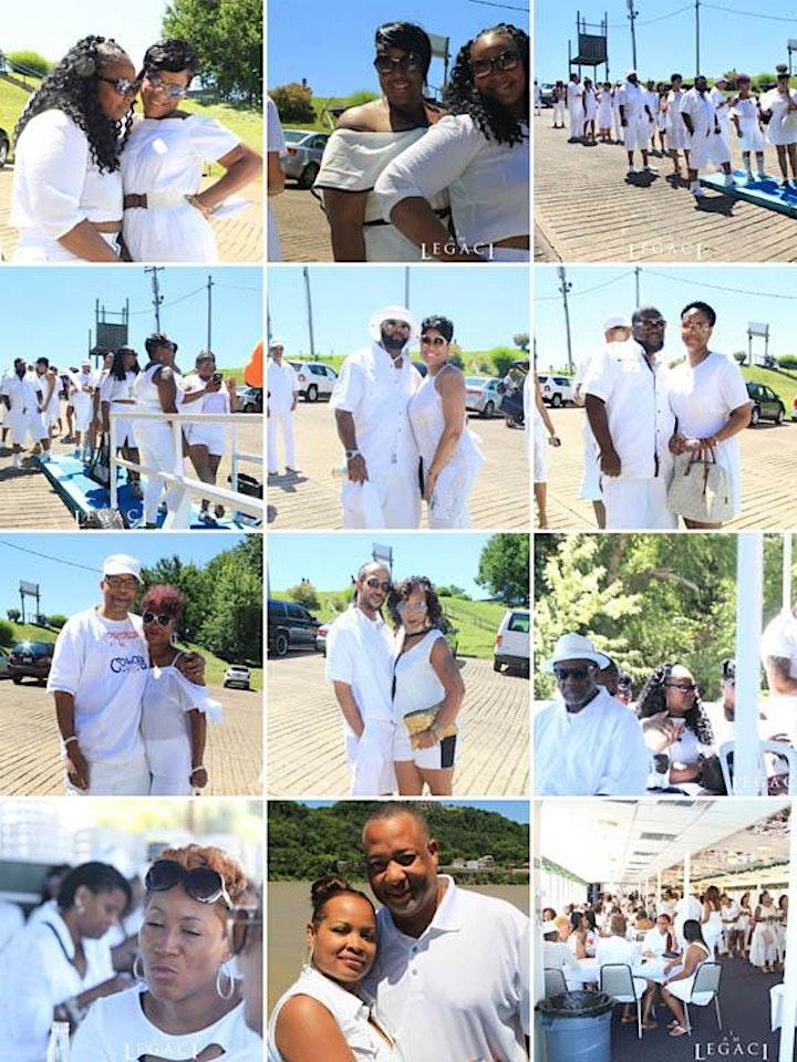 ROCK THE BOAT ANNUAL ALL WHITE BOAT RIDE DAY PARTY CINCINNATI 2021 image