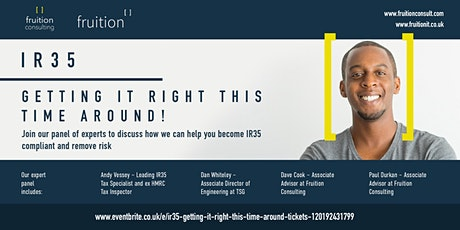 IR35 – Getting it right this time around! tickets