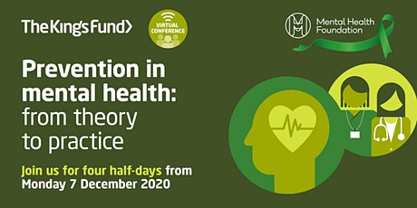 Prevention in mental health: from theory to practice (virtual conference) tickets