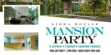 Private Mansion Pool Party tickets