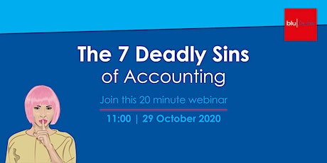 Webinar: The 7 Deadly Sins of Accounting tickets