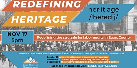 Redefining Heritage: The Struggle for Labor Equity in Essex County tickets
