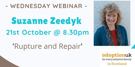 The Rupture and Repair Cycle with Suzanne Zeedyk tickets