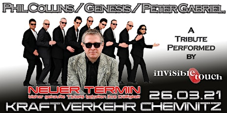 Phil Collins & Genesis - performed by Invisible Touch // Chemnitz Tickets