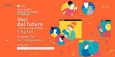 Cittadini ai tempi di internet  | ISF Festival 2020 biglietti