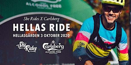 She Rides X Carlsberg Hellas Ride biljetter