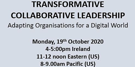 EXPERT SERIES: Transformative Collaborative Leadership tickets