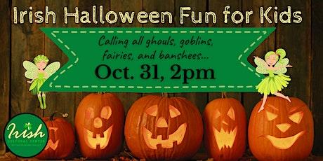 Irish Halloween Fun for Kids tickets