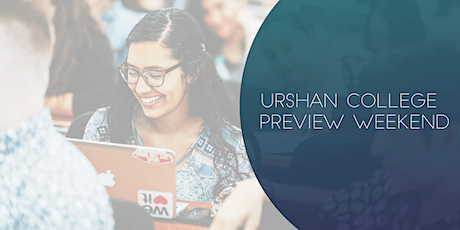 Urshan College Fall Preview Weekend 2020 tickets