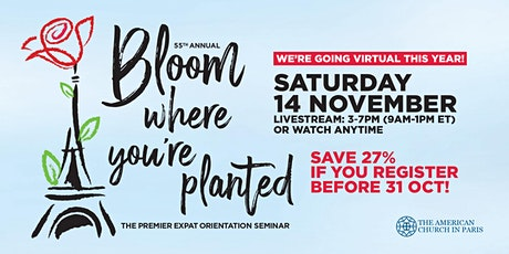 Bloom Where You're Planted 2020 tickets