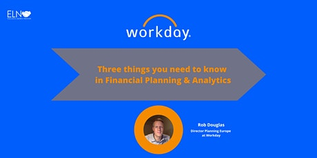 Three things you need to know in Financial Planning & Analytics  tickets
