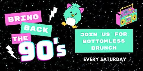 90's Bottomless Brunch tickets