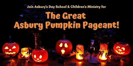 The Great Asbury Pumpkin Pageant - Register Pumpkins & Families tickets