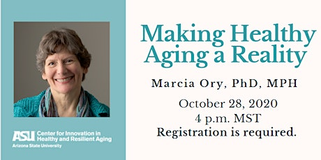 Speaker Event: Making Healthy Aging a Reality tickets