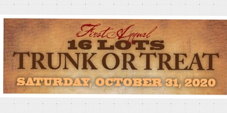 16 Lots Brewing Company  Trunk or Treat! tickets