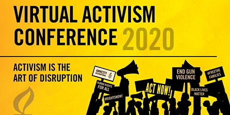 Amnesty International USA's 2020 Virtual Activism Conference tickets