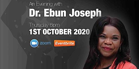 TUDSU - Dr Ebun Joseph - Black History Month Is For Everyone tickets