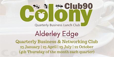 Club90 Alderley Edge Business & Networking Club - October 2020 tickets