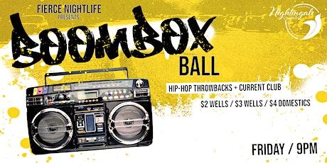 Boombox Ball tickets