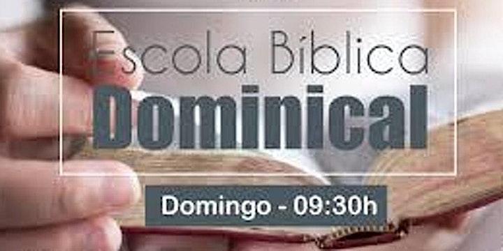 Imagem do evento Escola Bíblica Dominical