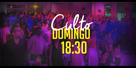 Culto Domingo (04/10) - 18:30 ingressos