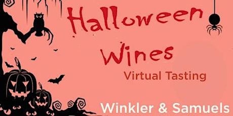 Virtual Wine Tasting: Halloween Wines tickets