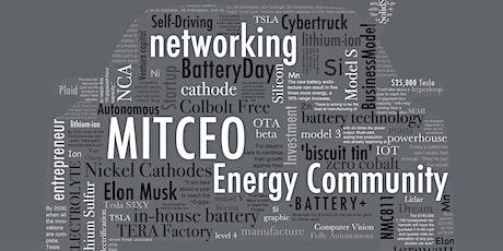 MIT CEO 能源社区云社交夜 MIT CEO Networking Series - Energy Community tickets