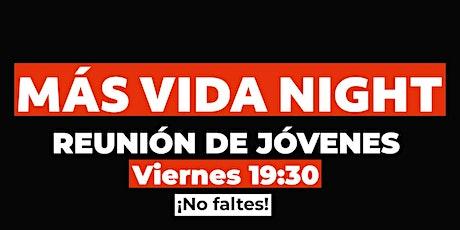 Más Vida Night - Friday 2 entradas