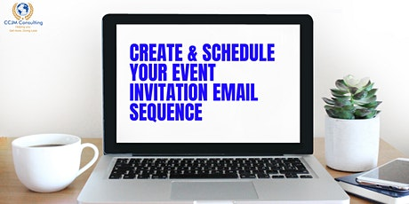How to  create & schedule an email sequence for your Event  _LEVEL 3 tickets