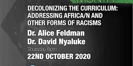 TUDSU - Decolonizing the curriculum (Black History Month) tickets