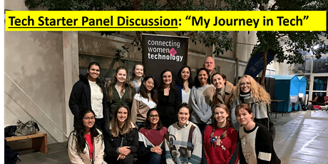 Tech Starter Panel Discussion - My Journey in Tech tickets