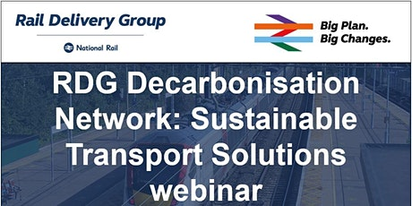 Decarbonisation Network: Sustainable Transport Solutions webinar tickets