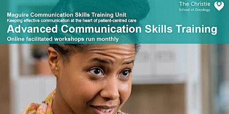 2 Day Advanced Communication Skills Training -  14-15 January 2021 tickets