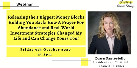 Releasing the 5 Biggest Money Blocks Holding You Back: How A Prayer For Abu tickets