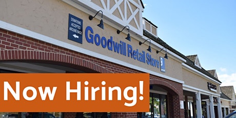 Goodwill Retail Management Virtual Hiring Event – Southern MD tickets