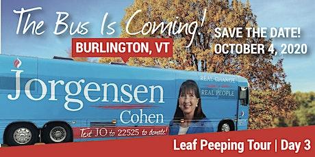 Leaf Peeping Tour with Dr. Jo:  Burlington, VT tickets