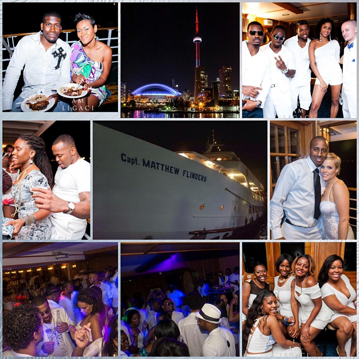 ROCK THE YACHT THE 8th ANNUAL ALL WHITE YACHT PARTY • TORONTO CARIBANA 2021 image