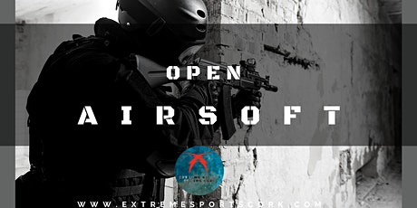 Open Adult Airsoft tickets