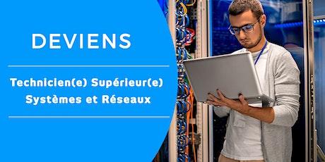 Petit déj d'informations : BAC + 2 Technicien Supérieur Systèmes & Réseaux billets